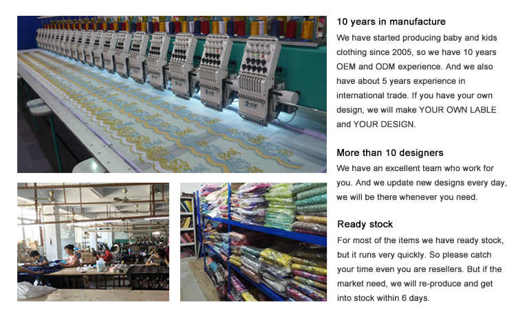 China embroidery factory