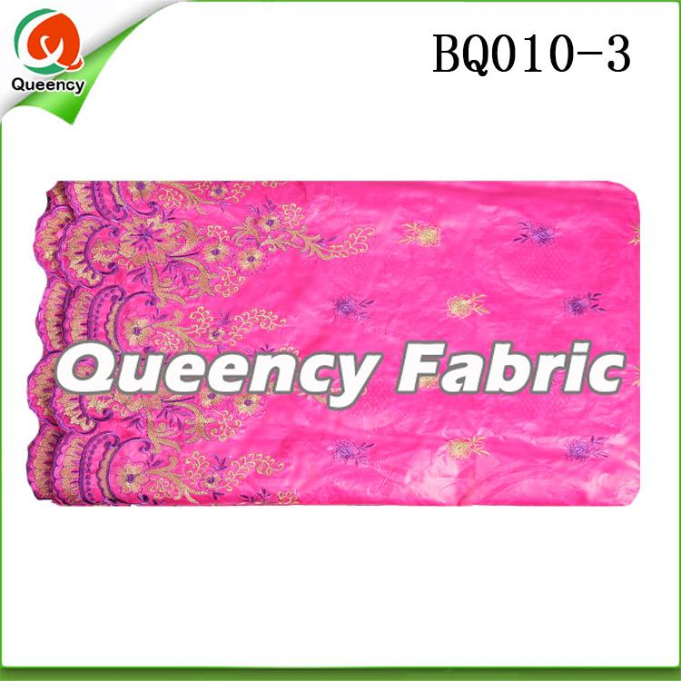Embroidery bazin fabric