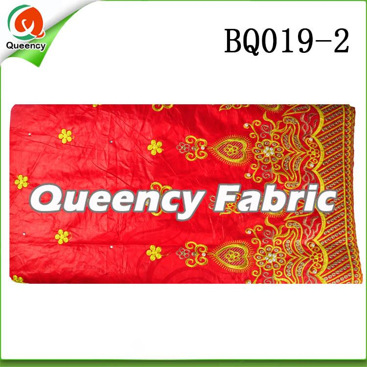 High Quality Embroidery bazin fabric
