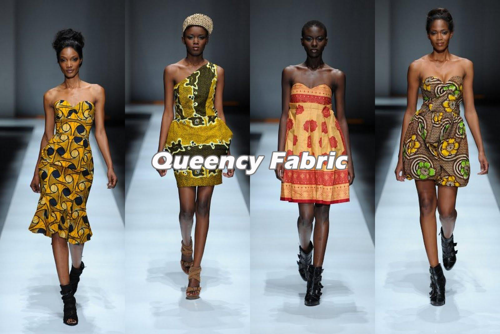 Queency African Fabric