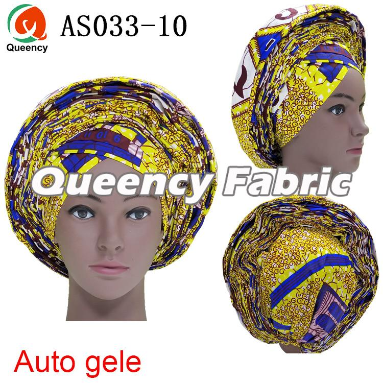 African Ladies Bridal Auto Gele