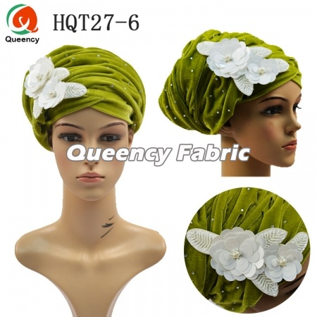 Muslim Women Turban Applique Hijab