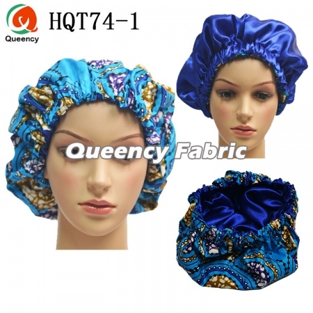 Handmade African Satin Sleep Bonnet